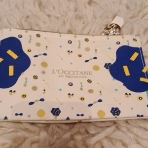 L 'occitane en provence cosmetic bag